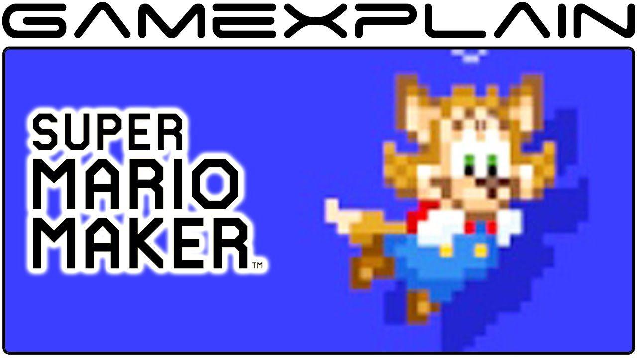 Super Mario Maker: Nekki Costume All Animations + Sounds