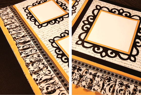 Fun Details For March Scrapbook Group Fabric Cricut Frames And