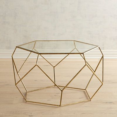 Inspired By Geometric Shapes Our Handcrafted Coffee Table Has The