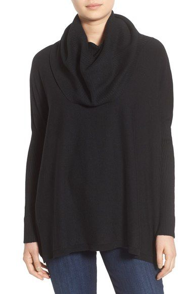 Dreamers by Debut Cowl Neck Boxy Pullover available at #Nordstrom