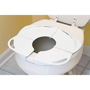 Folding Potty Seat With Handles Travel Potty Portable Potty Seat Travel Potty Seat