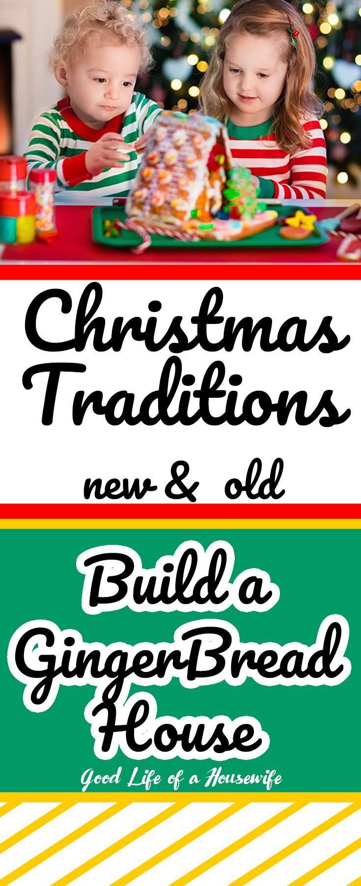 86 TRADITIONS FOR THE CHRISTMAS SEASON #Christmasbucketlist #ChristmasGoals #gingerbreadhouse