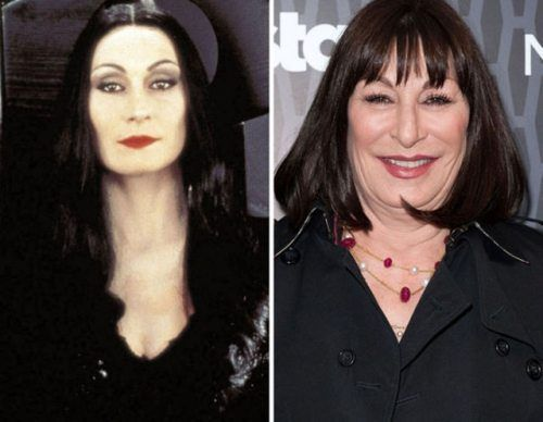 Anjelica Huston-now and then