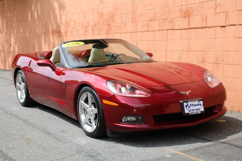 2006 Chevrolet Corvette Convertible Rwd 20 500 Cargurus Chevrolet Corvette Corvette For Sale Corvette Convertible