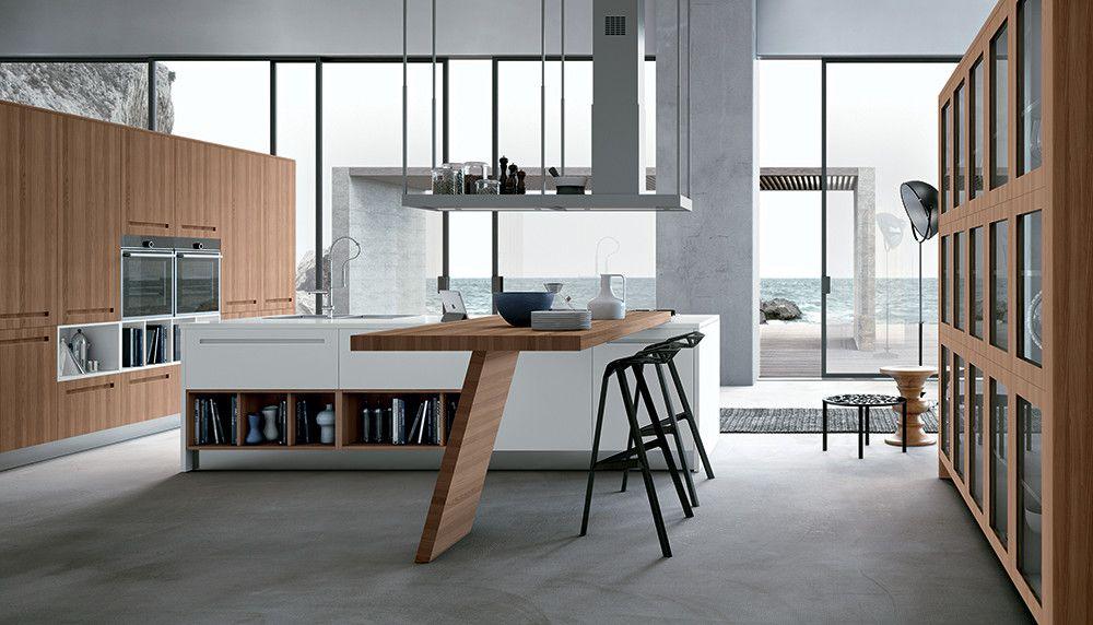 Cucina con isola modello Mood - Stosa cucine | Cucine Idee ...