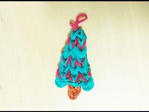YouTube - Rainbow Loom Weihnachtsbaum