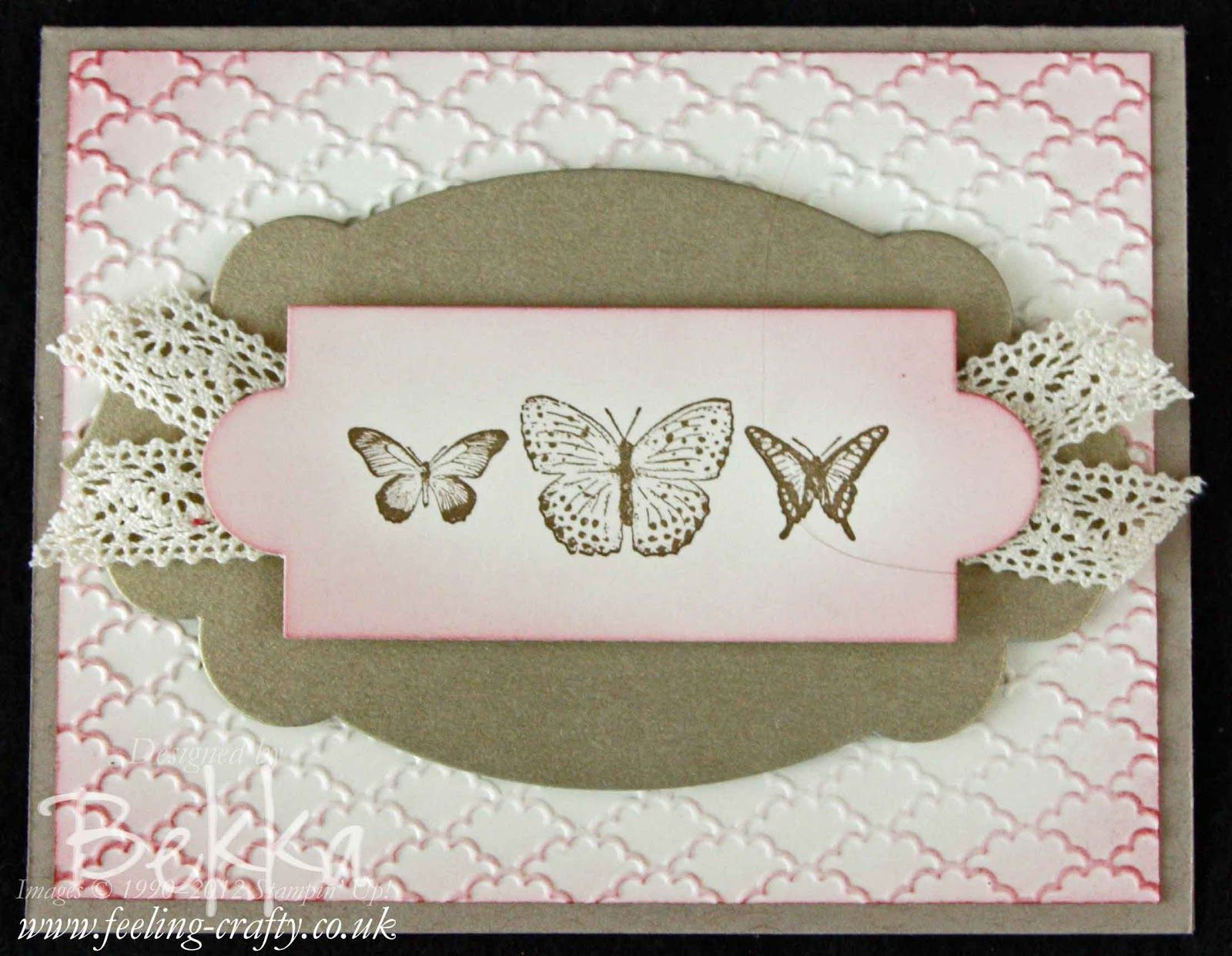 Card from a thank you kindly box of card a card class by stampin