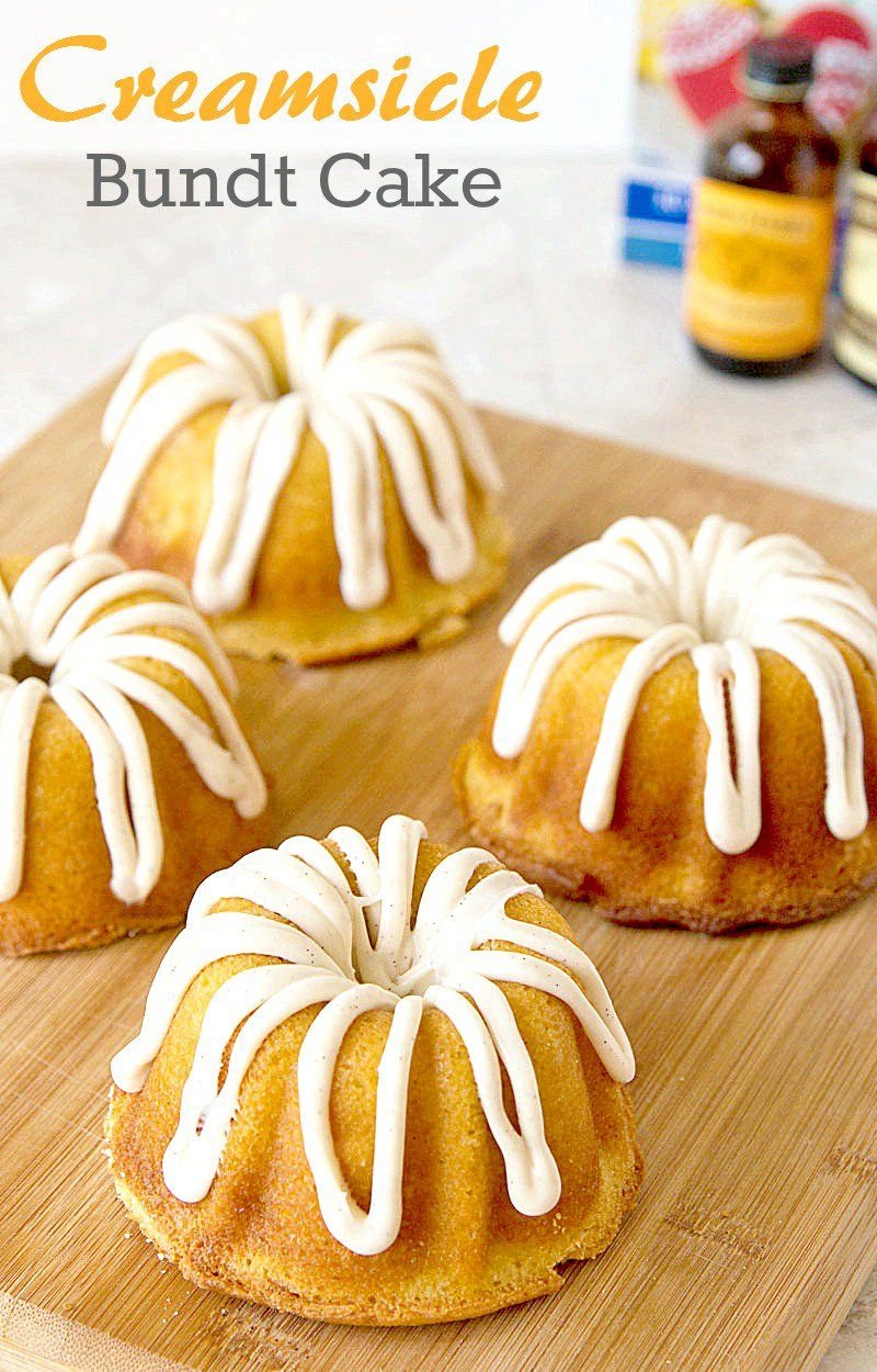 Creamsicle bundt cake this pound cake recipe is inspired
