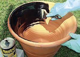 Resultado de imagem para decoração de vaso de barro