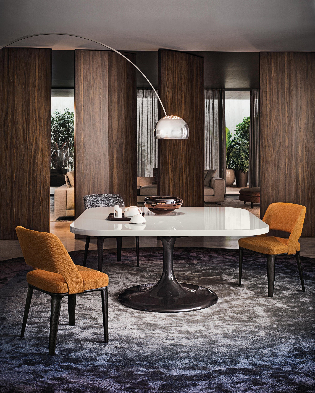 Der Tisch Neto Lehnt Sich Deutlich An Das Design Der Funfziger Und Sechziger Jahre An Und Hat E Modernes Esszimmer Speisezimmereinrichtung Esstisch Quadratisch
