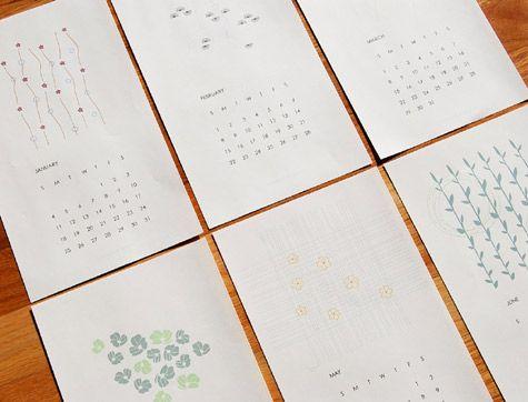 Japanese Calendar Design Google Search Calendar Round
