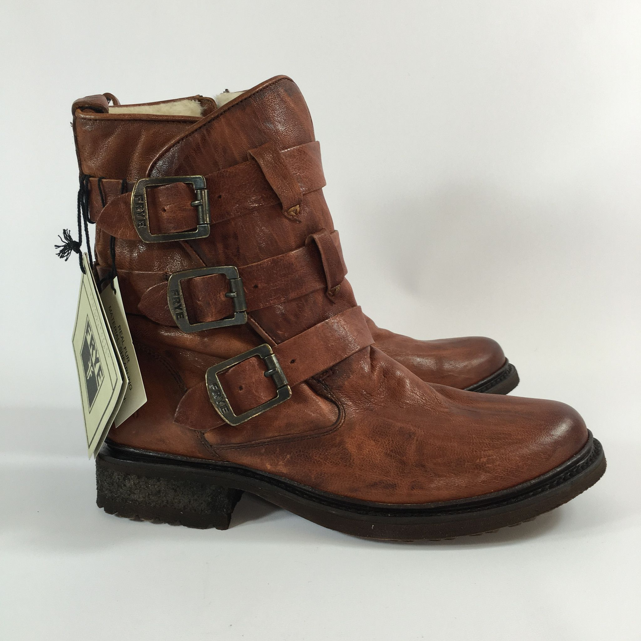 Frye Lindsay Leather Plate Boot | Boots, Frye boots, Leather