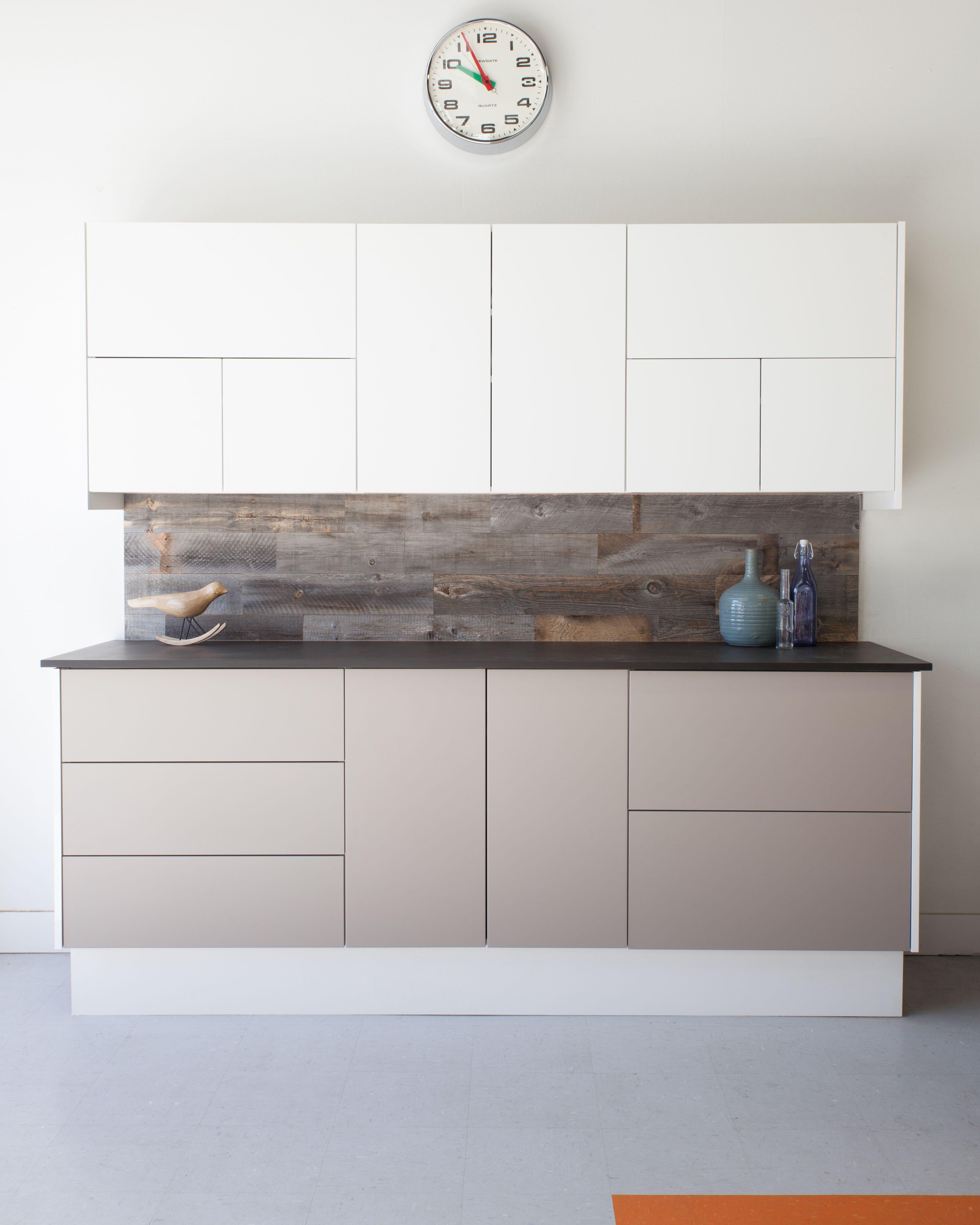 Semihandmade Supermatte Light Gray And White Slab Ikea Kitchen