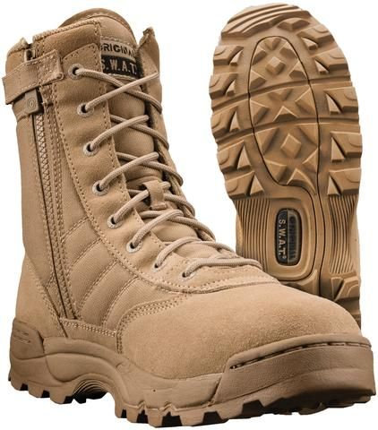 NEW MENS SUEDE LEATHER ORIGINAL DESERT HIKING WALKING COMBAT POLICE WORK BOOTS Z