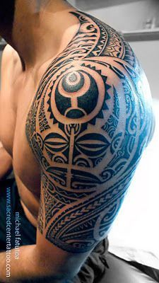 Maori Tattoo Arm – Wolf-Tattoo-Design – Tattoo