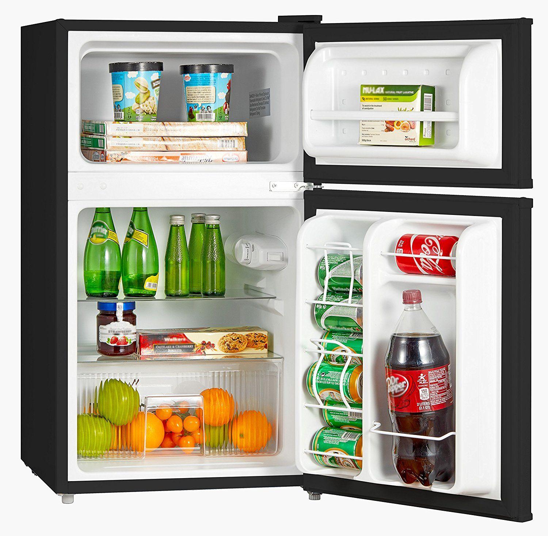 Amazon Com Midea Whd 113fss1 Double Reversible Door Refrigerator
