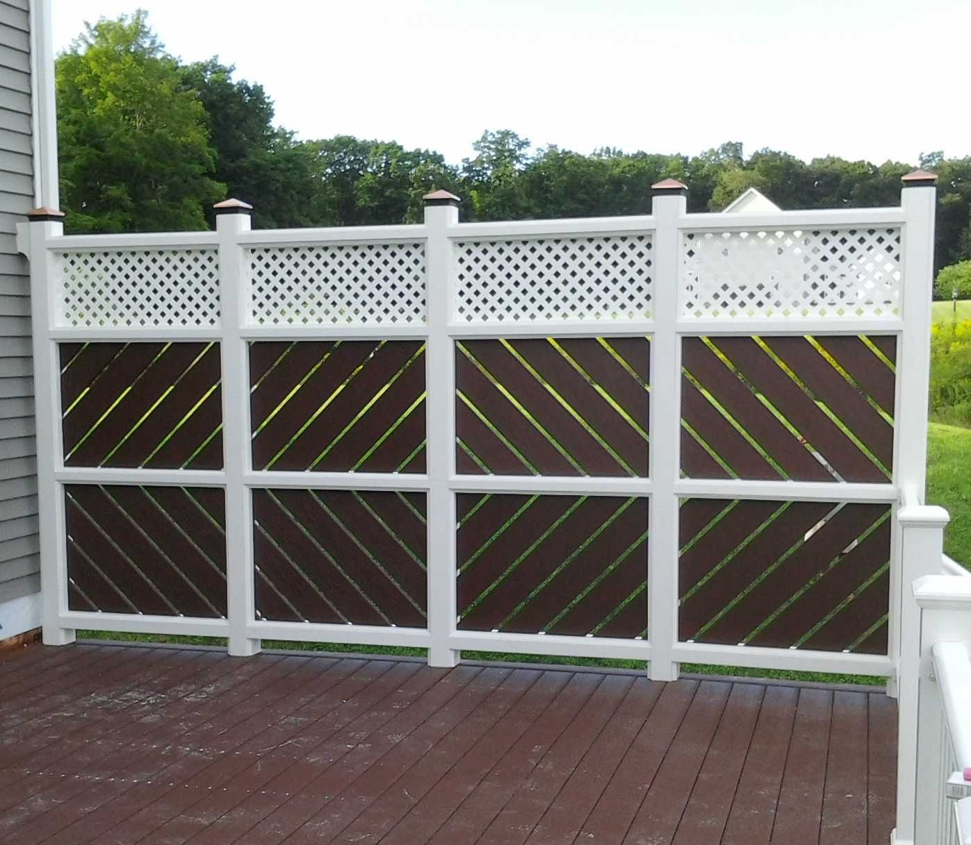 Deck privacy screen google search gardening outdoor for Patio deck privacy screen