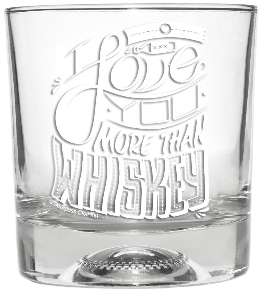 More Than Whiskey Glass Glass Cute Little Houses Vday Gifts