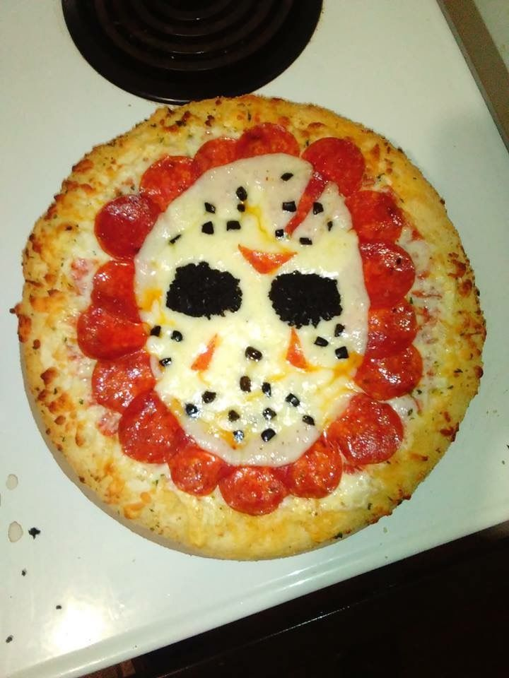 Friday The 13th And Halloween 2020 Coincedence Jason Voorhees pizza | Birthday halloween party, Fall thanksgiving