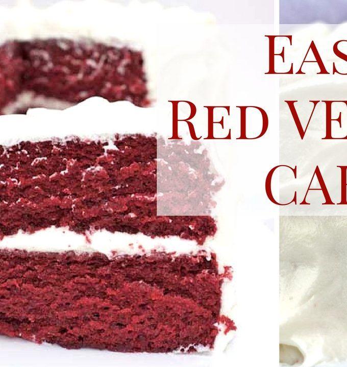 The Best Red Velvet Cake Recipe Easy Homemade Moist With Southern Flair Red Velvet Cake Recipe Easy Red Velvet Cake Recipe Easy Cake Recipes