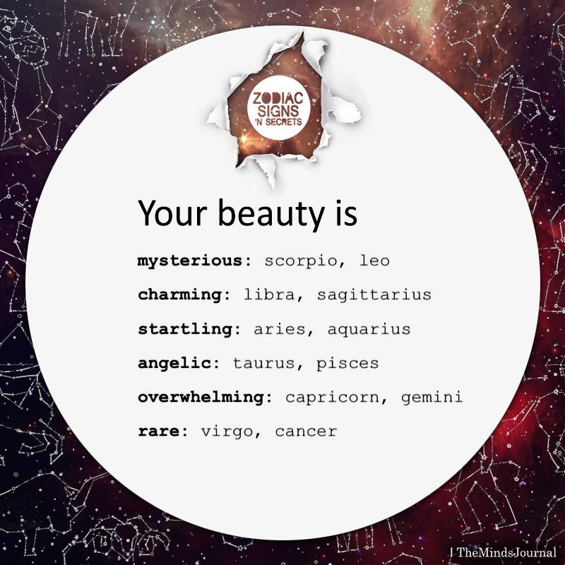 Beauty Journey Zodiak: Zodiac Sign's Beauty