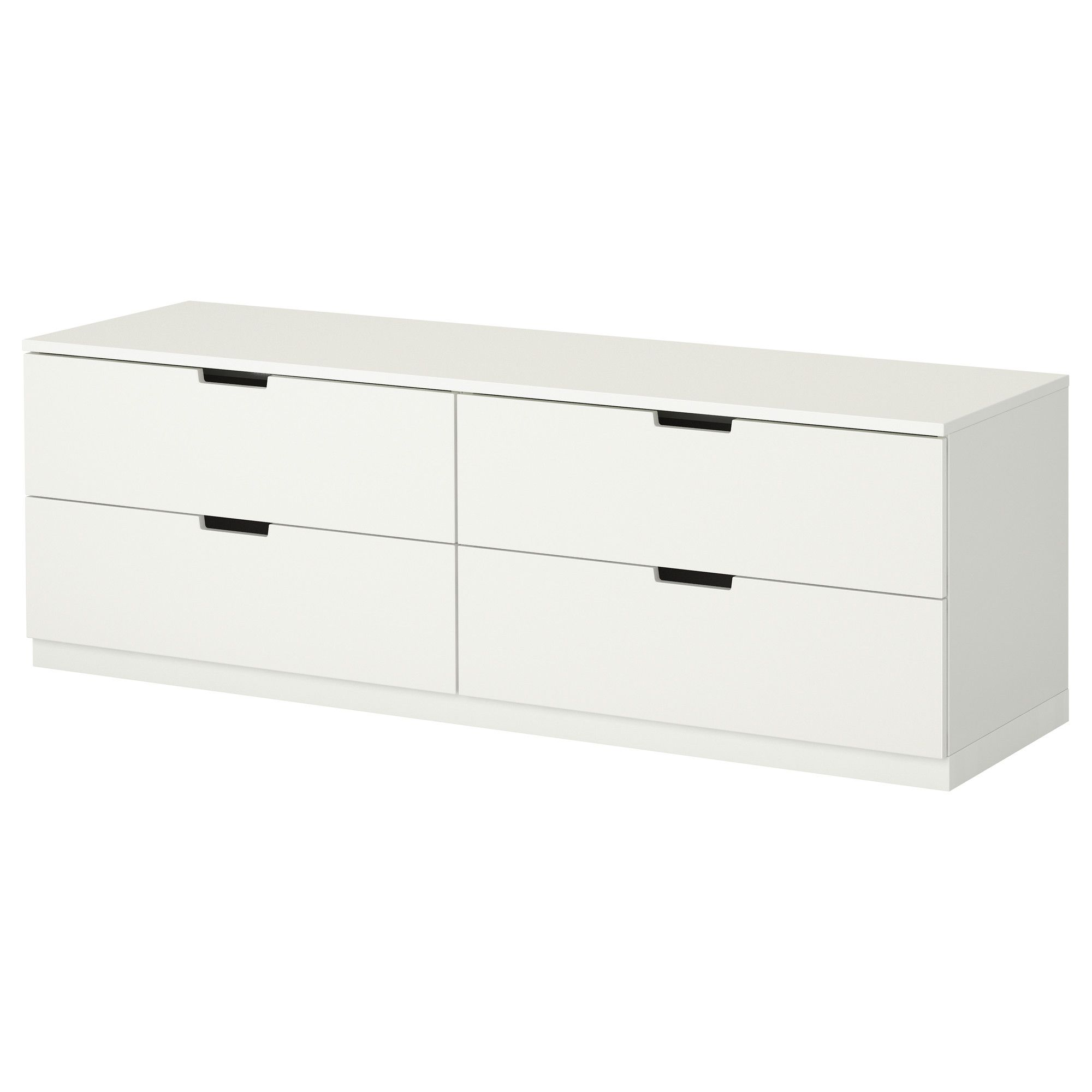 Ikea Nordli 4 Drawer Dresser You Can Use One Modular Chest  # Ikea Odda A Roulette