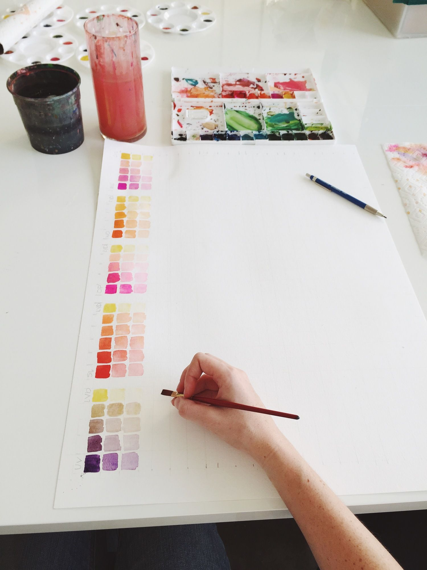 Diy Color Study Color Studies Color Theory Color Mixing