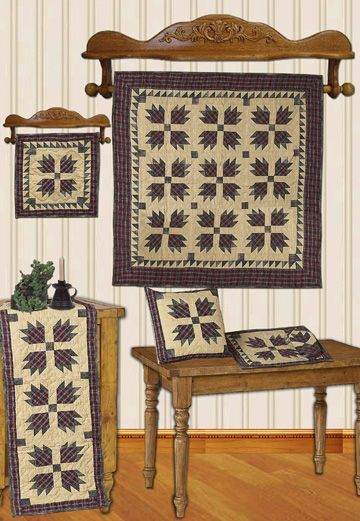 Bear's Paw Quilts | Choices Quilts offers Bear's Paw Quilts handmade for you! You can shop online or call us toll-free @ 1-800-572-2070 or 770-641-9700.