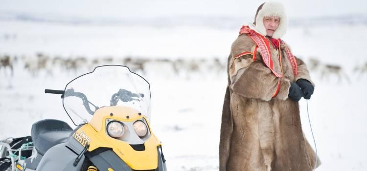 ver los samis en en viaje a laponia