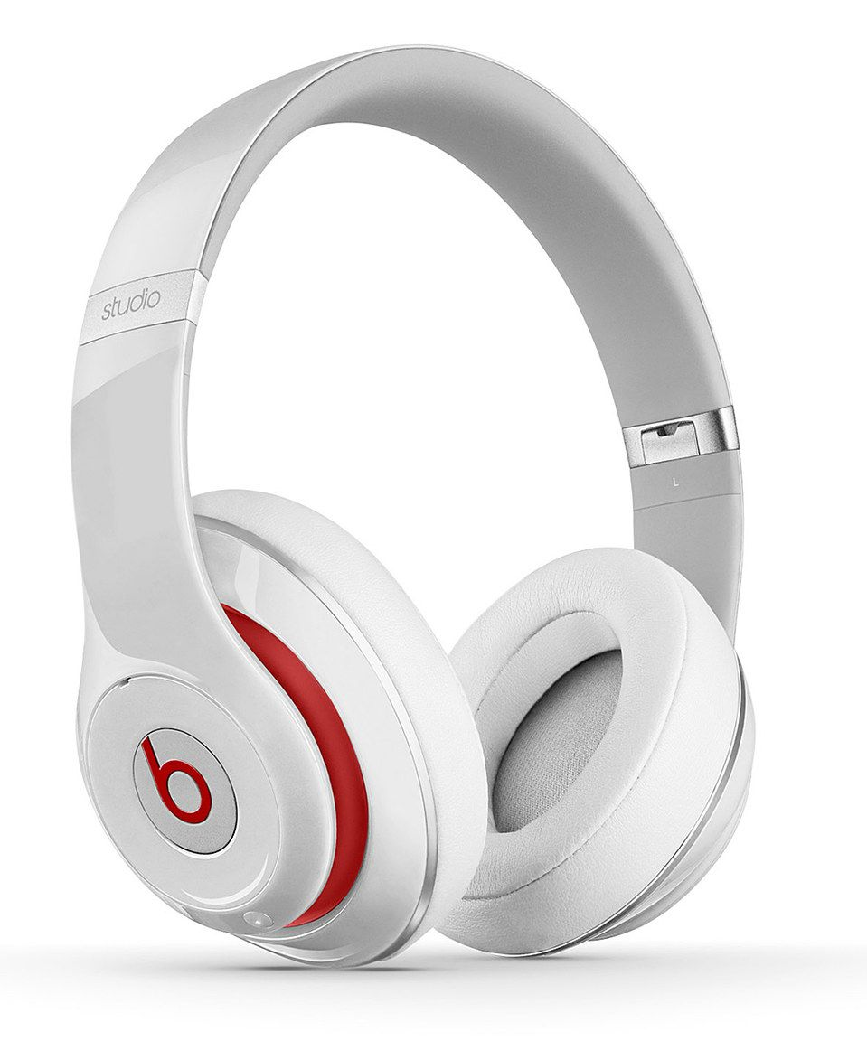 28f13b7b5061 Loving this White   Red Beats Studio Wireless Headphones on  zulily!   zulilyfinds