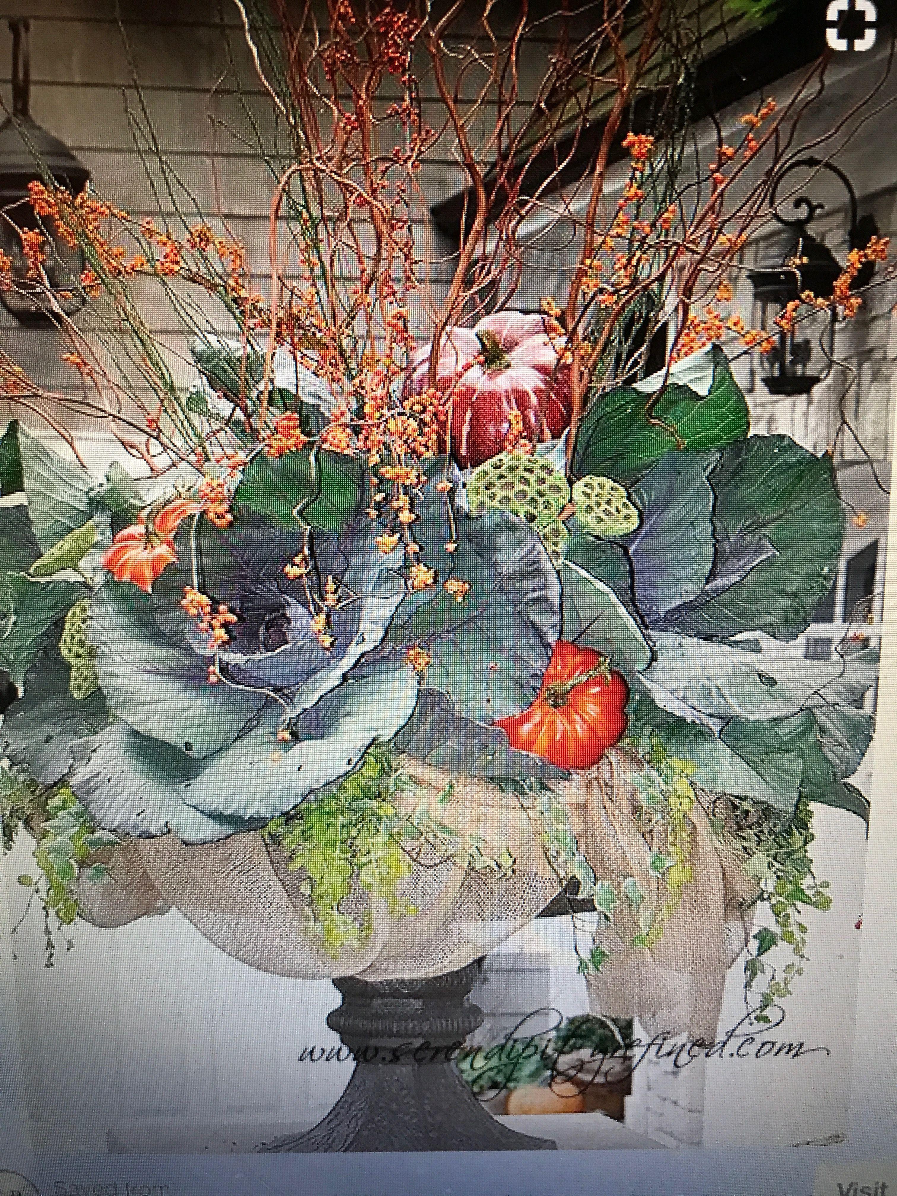 Pin by Dahlys Hamilton on Fall Floral Arrangements