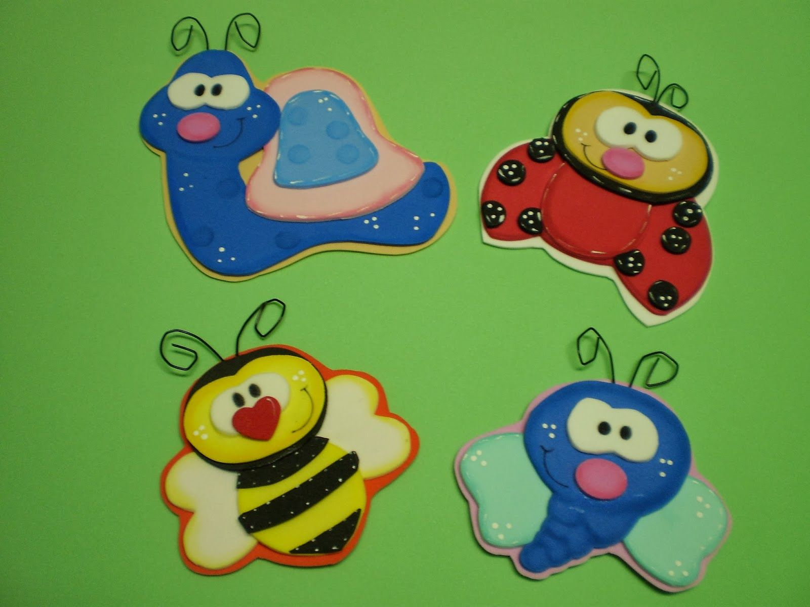 Bichinhos Em Eva ~ Bichinhos de jardim Moldes diversos  Pinterest Ideas para, Foam crafts and Animal patterns
