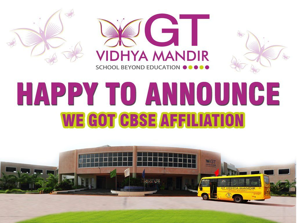 Happy to Announce We got CBSE Affiliation CBSE
