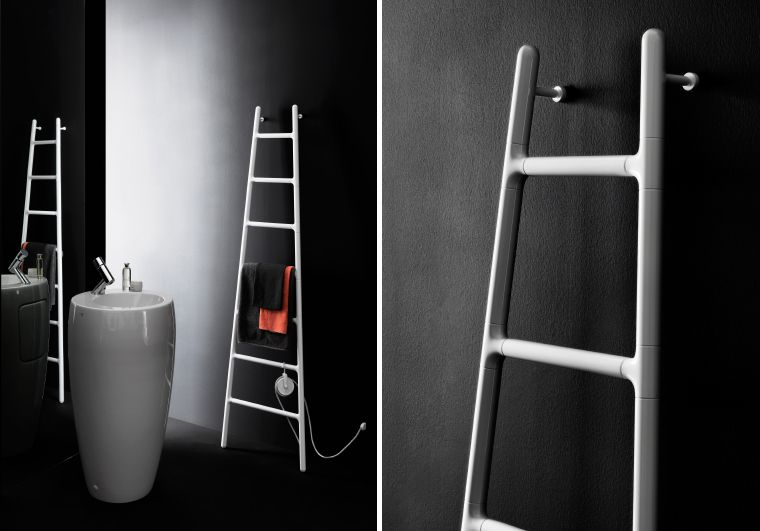 Scaletta Bagno ~ Aluminium electric radiator: scaletta by tubes products