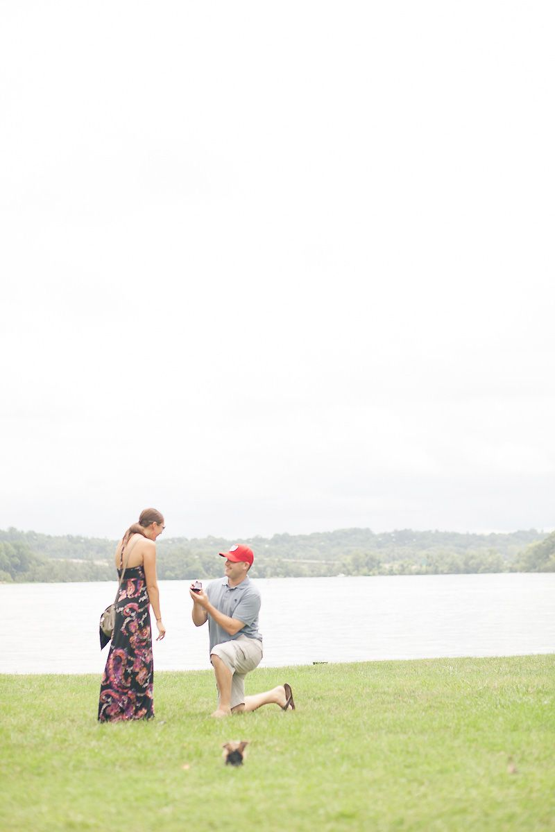 We Love This Waterfront Surprise Wedding Proposal In Old Town Alexandria Virginia From