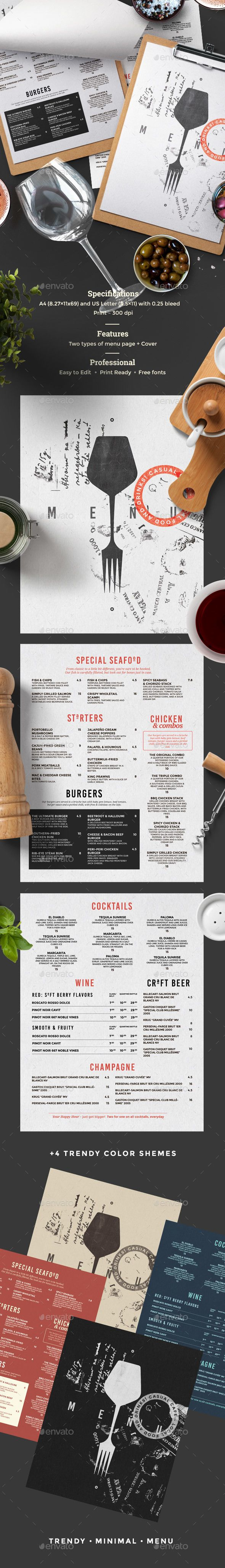 Restaurant Menu | Pinterest | Tarjetas