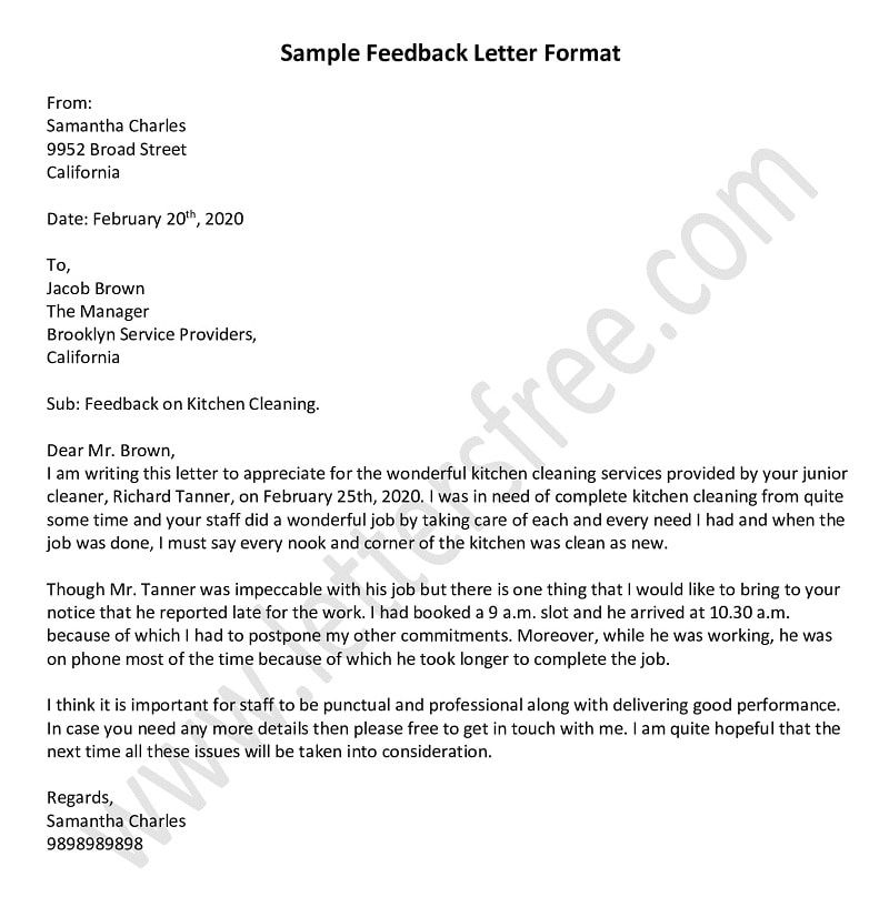 Sample Feedback Letter How To Write Feedback Letter Lettering Letter To Boss Farewell Letter To Boss