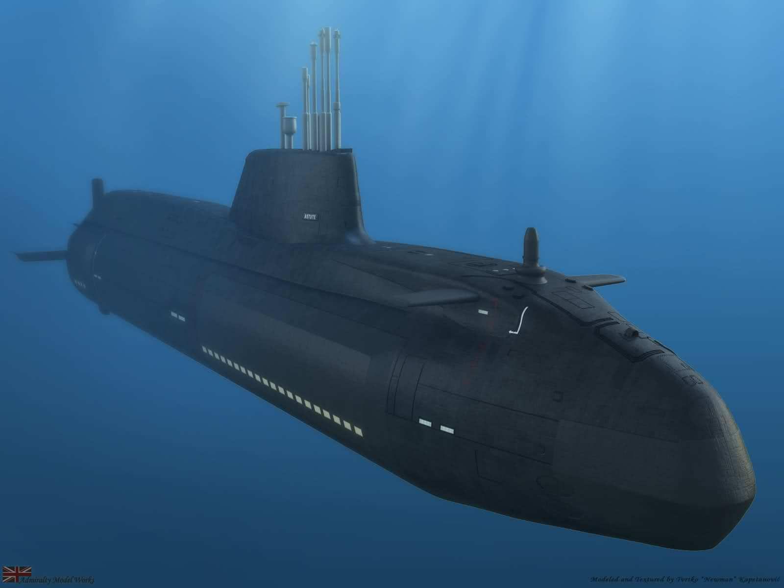 Astute Class SSN Submarine – Royal Navy