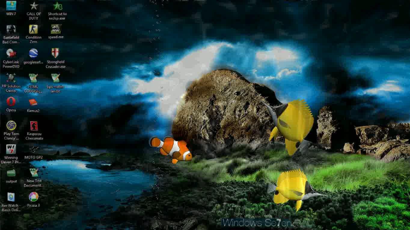 Fish Wallpaper Desktop That Moving Www Topsimages Com