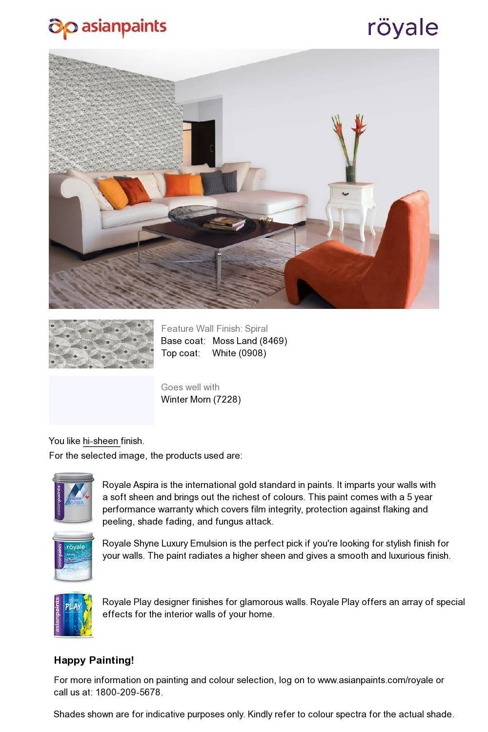 Pin By Mouli On Paramesh Feature Wall Wall Finishes Soft Sheen