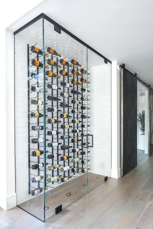Image Result For Glass Enclosed Wine Cellar Glass Wine Cellar