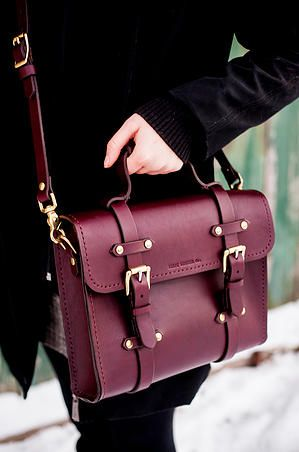 0b90fa913f74 RELIC LEATHER Co. //Premium Leather Goods//Handcrafted in Canada |  Oldenburg Small Messenger $375