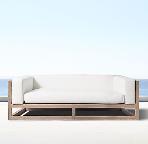 Aviara Teak Collection Weathered Teak Rh Lounge Mobel Haus