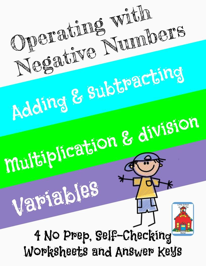 Operating With Negative Numbers Who Am I? Inventor
