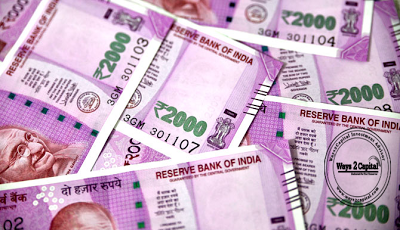 The Indian Rupee Depreciated Marginally By 0.02 Percent