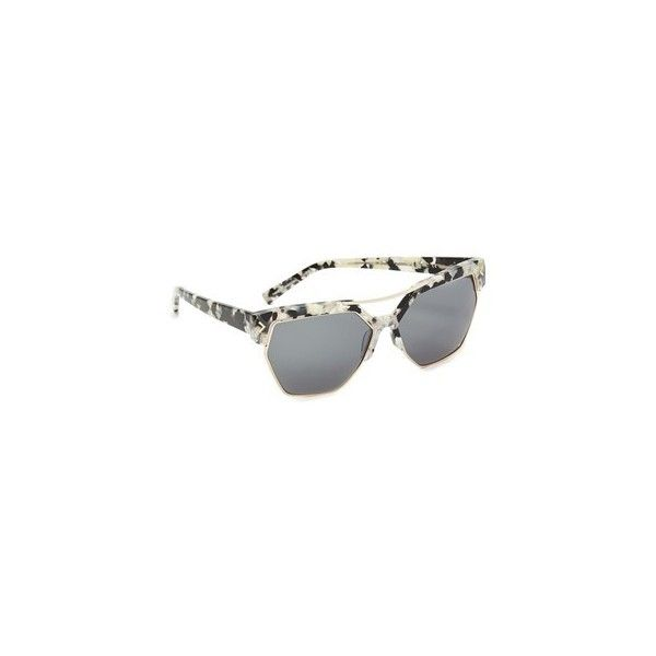 2d1a3170310 KENDALL + KYLIE Melrose Sunglasses (296 CAD) ❤ liked on Polyvore featuring  accessories