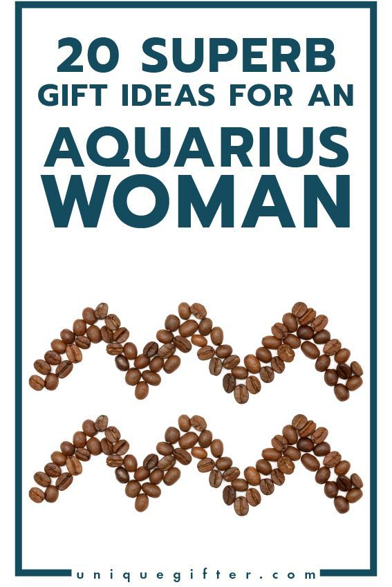 20 Gifts for Aquarius Women | Gift Ideas | Pinterest | Gifts ...