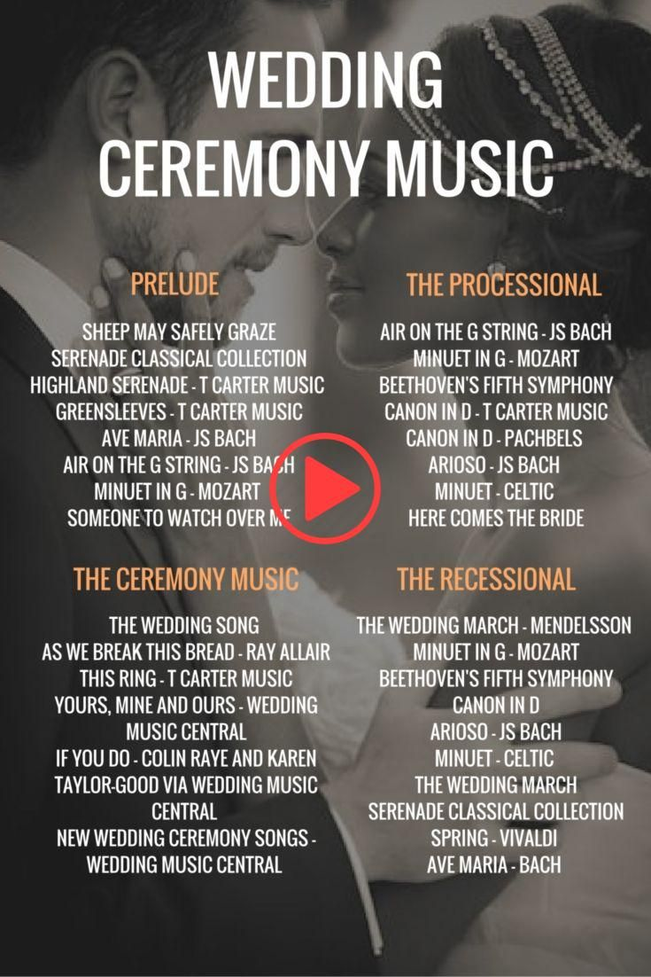 Full Information to Marriage ceremony Music & Songs