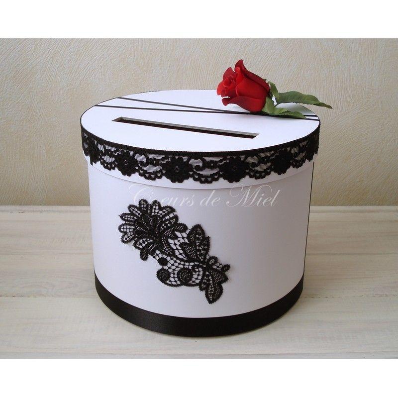Raffinée, cette urne sera idéale pour un mariage au thème baroque et