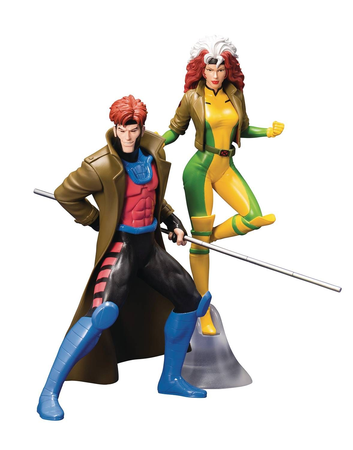 Now Available For Pre Order X Men 92 Gambit Rogue Statue Two Pack X Men Superhero Marvel X
